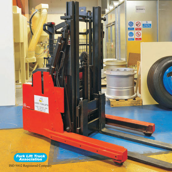 BT Rolatruc LSR 1200 Electric Pedestrian Fork Lift